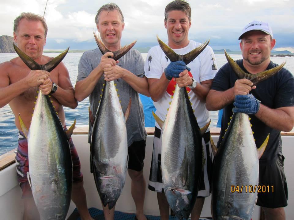 Tuna fishing trips
