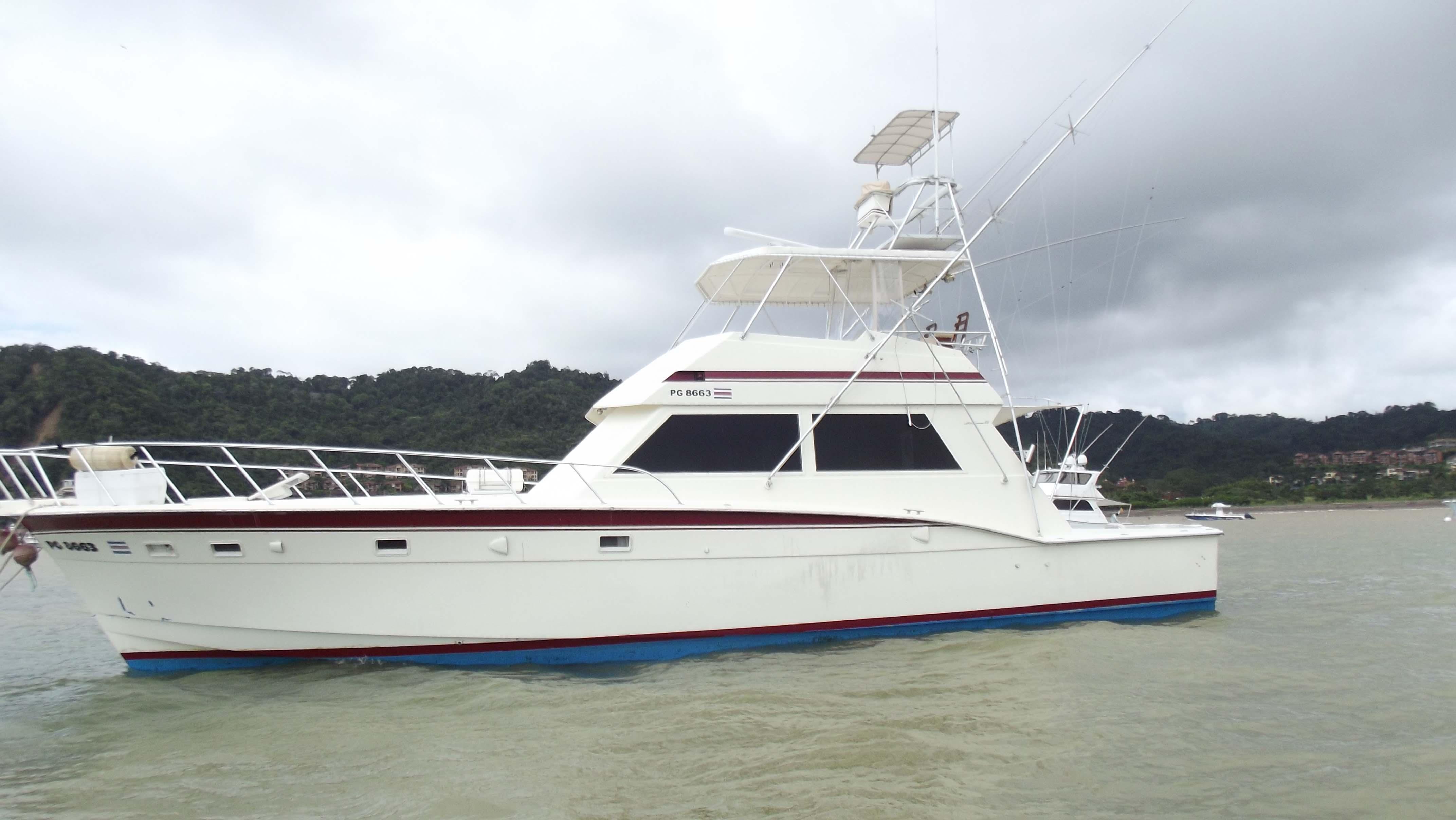 Los Sueños Costa Rica 55 Rock and Rool Custom Sportfisher Charter