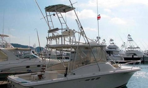 Los Sueños Costa Rica 32' Custom Sportfisher Charter