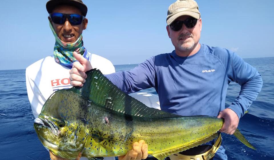 Mahi Mahi Fishing in Jaco Costa Rica