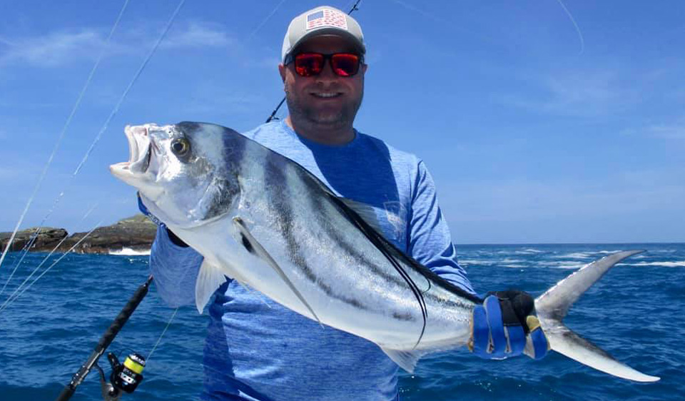Rooster Fishing Jaco Beach